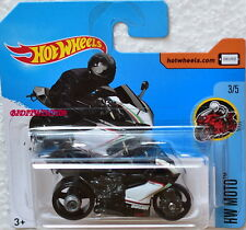 HOT WHEELS 2017 HW MOTO DUCATI 1199 PANIGALE #3/5 SHORT CARD