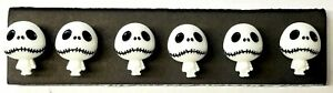 JACK NIGHTMARE BODY Halloween - Set of 6 Handmade Memo Board or Office Magnets