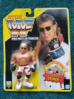 VINTAGE WWF WWE SHAWN MICHAELS  HBK U.S. Yellow Card Series 7 1993 Hasbro Titan
