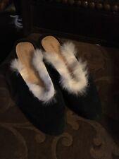 Mari Giudicelli Open Back Woman Shoes Size 37 Made In Brazil