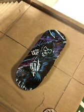 LC BOARDS Fingerboard 98x34 Skull Graphic Brand New Free Grip Tape And Stickers