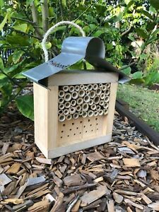 Australian Ladybird and Insect House | Solitary Bee Hotel | Mixed Small Roof
