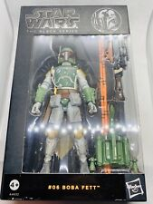 Star Wars - Black Series - Boba Get #06 - Unopened - 6""