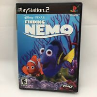 THQ Finding Nemo PlayStation 2 Ps2 Game Disney Pixar   Manual Included