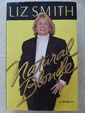 NATURAL BLONDE: A MEMOIR by Liz Smith - HC 1st Edition
