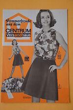 Sommerfreude aus dem CENTRUM Versandhaus, Sonderprospekt 502, 1968, Beilagen