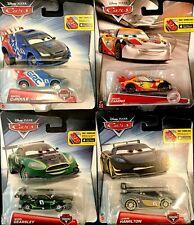 Disney Pixar Cars Carbon Racers Set Of 4 Camino Hamilton Gearsley CaRoule