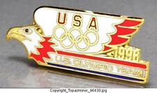 OLYMPIC PINS 1996 ATLANTA LOGO OFFICIAL GOLD COLLECTIBLE SUMMER GAMES TEAM USA