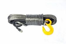 93ft 10mm SYNTHETIC WINCH ROPE CABLE Dyneema SK75  *10300 kg BREAKING STRENGTH**