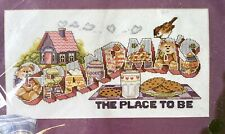 New listing Design Works #2368 Grandma's The Place To Be Counted Cross Stitch Kit New