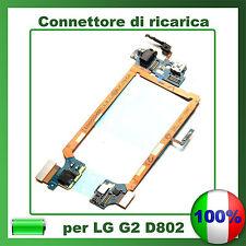 CONNETTORE CARICA micro usb FLEX PER LG G2 D802