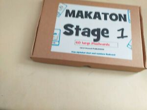 60 MAKATON A5 FLASHCARDS SIGNS AND SYMBOLS FOR STAGE 1 sen autism salt
