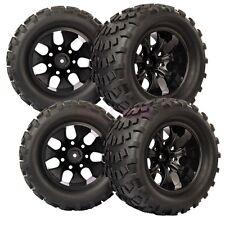 RC 1:10 Monster Bigfoot Off-Road Truck Foam Rubber Tyres Tires & Wheel Rim 88035