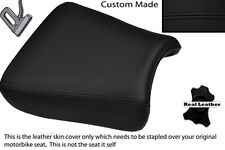BLACK STITCH CUSTOM FITS SUZUKI GS 1200 SS 01-02 FRONT LEATHER SEAT COVER