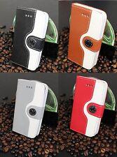 Luxus iPhone 4 4S Tasche Schutz Hülle  Case Cover Etui diverse Farben