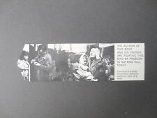 Vintage BOOKMARK Notting Hill Housing Trust Charity London 1960s Bruce Kenrick