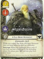 A Game of Thrones 2.0 LCG - 1x Old Bear Mormont #126 - Base Set - Second Edition