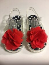 Girls Sandals Shoes Size 7 Clear Children