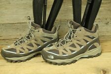 THE NORTH FACE WOMENS BROWN LEATHER LACE UP MOUNTAINEERING/HIKING BOOTS SZ 9