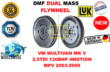 FOR VW MULTIVAN MK V 2.5 TDI 4MOTION MPV 2003-2009  NEW DUAL MASS DMF FLYWHEEL