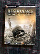 Resistance Fall Of Man BradyGames Official Strategy Guide