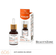 MINCER PHARMA VITA C INFUSION ANTI-AGE OIL SERUM ENERGY BOOST FOR SKIN No 606