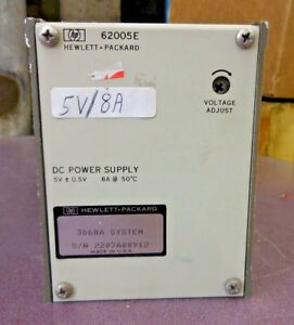 HP 62005E DC Power Supply + HP 3060A Board Test System (5VDC-0.5VDC, 8A @ 50˚C)