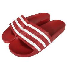 adidas Performance Adilette Red White Mens Sports Sandals Slides Slippers 288193