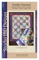 Doubly Charmed Quilt Pattern Designed by Deb Tucker for Studio 180 Designs