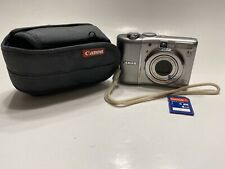 Canon PowerShot A1100 IS 12.1MP Digital Camera with Case & 4GB Memory Card