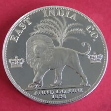 EAST INDIA CO GEORGE IIII 1830 NICKEL SILVER PROOF PATTERN CROWN