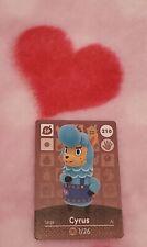 Animal Crossing amiibo Cards - Series 3#210 CYRUS💟