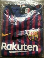 More details for barcelona home shirt 2018/2019 size m - replica - brand new