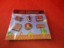 Nintendo Vans Pin Button Promo Pinback Set *NEW* Super Mario Bros. NES 2016