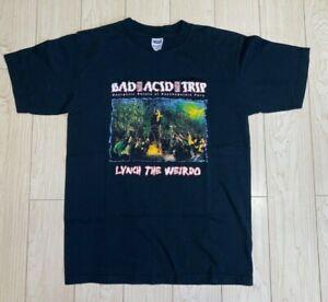 BAD ACID TRIP vintage T Shirt Lynch the Weirdo 2000s metal band Powerviolence