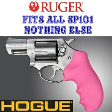 NEW PINK Hogue Monogrip Rubber Grip Fits ALL RUGER SP101 SP 101 Revolvers