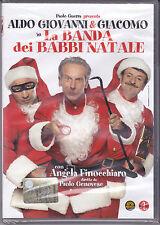 Dvd **LA BANDA DEI BABBI NATALE** con Aldo Giovanni e Giacomo nuovo 2010