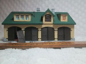 """Vtg HO Scale Vollmer 20990 German Town House Barn Building 5 """" X 3.1"""" Foot 3""""T"""