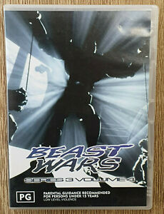 Transformers Beast Wars Series 3 Volume 4 - DVD - Region 4 Australia