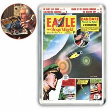 EAGLE COMIC cover that PETER CUSHING - DR WHO is reading  - JUMBO FRIDGE MAGNET