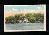 1960 Kosciuszko Lodge Winona Lake Indiana Postcard