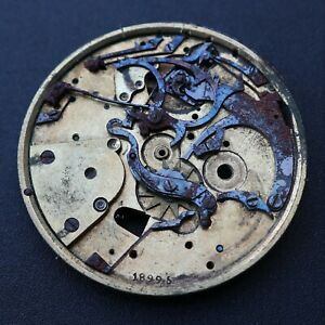 Pocket Repeater Watch Movement Vintage Reloj Repetidor Montre Orologio Swiss