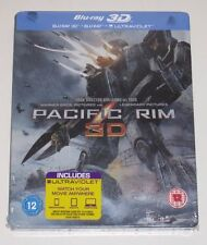 PACIFIC RIM 3D STEELBOOK RARE UK Exclusive NEW OOP Perfect condition Sealed