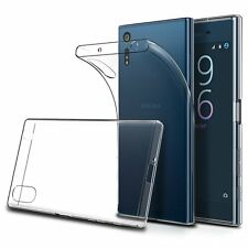 Soft Gel Clear Transparent Case Cover For Sony Xperia XZ XZ2 XZ Premium