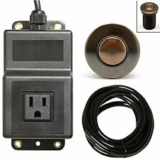Single Outlet Sink Garbage Disposal Air Activated Switch, New, Free Shipping