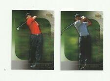 Tiger Woods 2 Golf Card Lot - Upper Deck