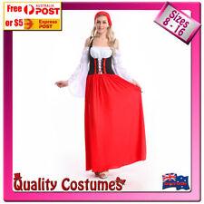 Unbranded Polyester Oktoberfest Dress Costumes for Women