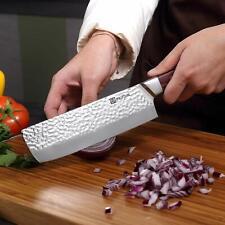 Nakiri Kitchen Knife 7'' Cleaver PAUDIN Chinese Chef  knife HC Stainless Steel