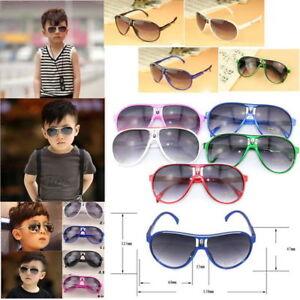 Stylish  Boys Girls Kids Sunglasses Child Children's Goggles Holiday Sun Eye UK