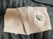 New Simple Wishes Hands-Free Breast Pumping Bra -Fits Size X-Small - Large, Pink